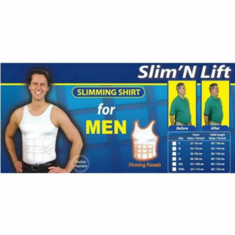 37ea2e7309 HOT Slimming Vest Top for MEN Slim N Lift MEN s Shirt Body Shapers-in  Slimming Creams from Beauty   Health on Aliexpress.com
