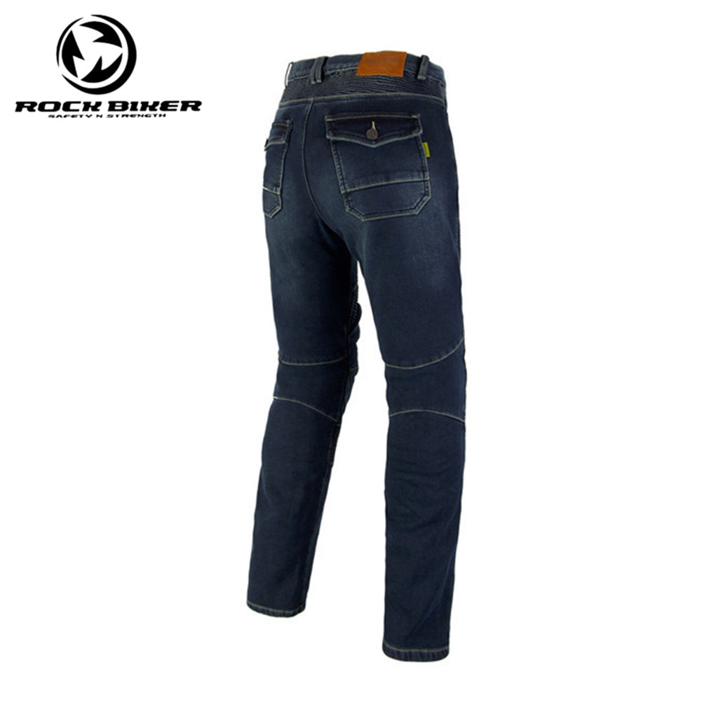 Rock Biker Motorcycle Jeans Protective Motorcycle Jeans Skinny Biker Moto Racing Pants 73860 With Detachable CE Protector skinny frayed ripped jeans with pockets
