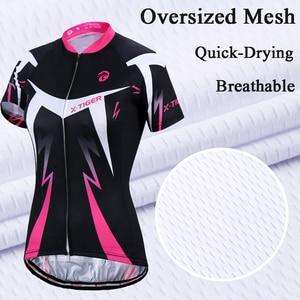 Image 3 - X tiger femmes cyclisme maillot ensemble été Anti UV cyclisme vélo vélo vêtements à séchage rapide VTT vêtements cyclisme ensemble