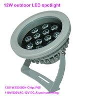 Good Quality High Power 12W Outdoor LED Spotlight LED Outdoor Light 110V 250VAC DS 06