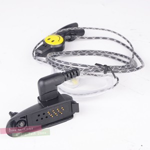 Image 1 - ווקי טוקי אודיו מתאם + אוזניות לbaofeng BF 9700 BF A58 BF UV9R N9 מתאם עבור M ממשק 2Pin אוזניות יציאת אבזרים