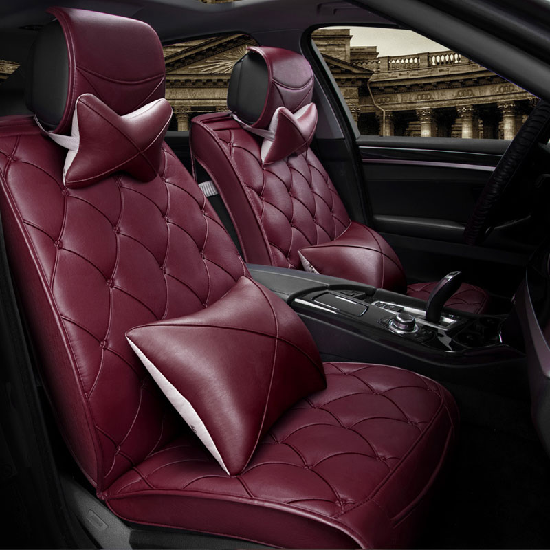 Luxury Leather Special Car Seat protect For Mercedes,Audi, Nissan ,Toyota ,vw,All Models Car Seat Covers Universal cushion