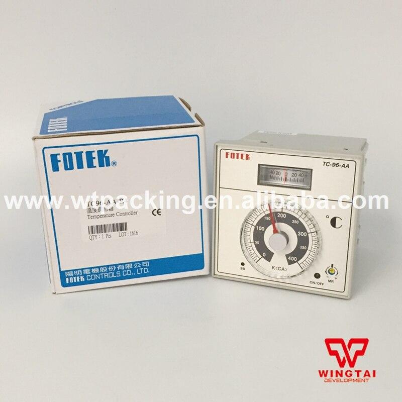 110 / 220VAC Fotek Temperature Controller TC-96-AA Digital Temperature Meter mt48 v fotek temperature controller new