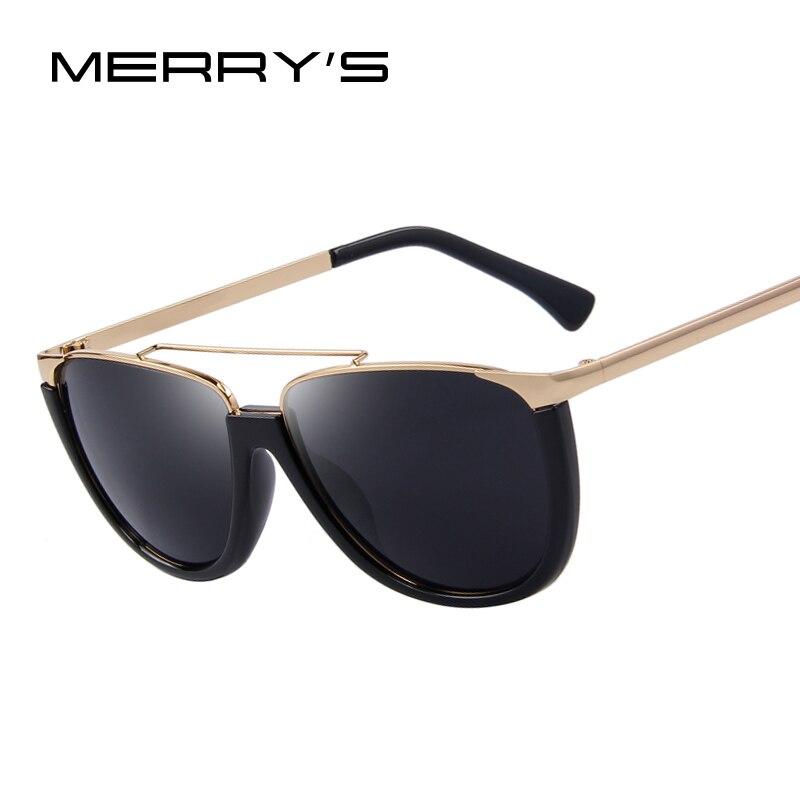 merry s flat top shield shape sunglasses fashion glasses