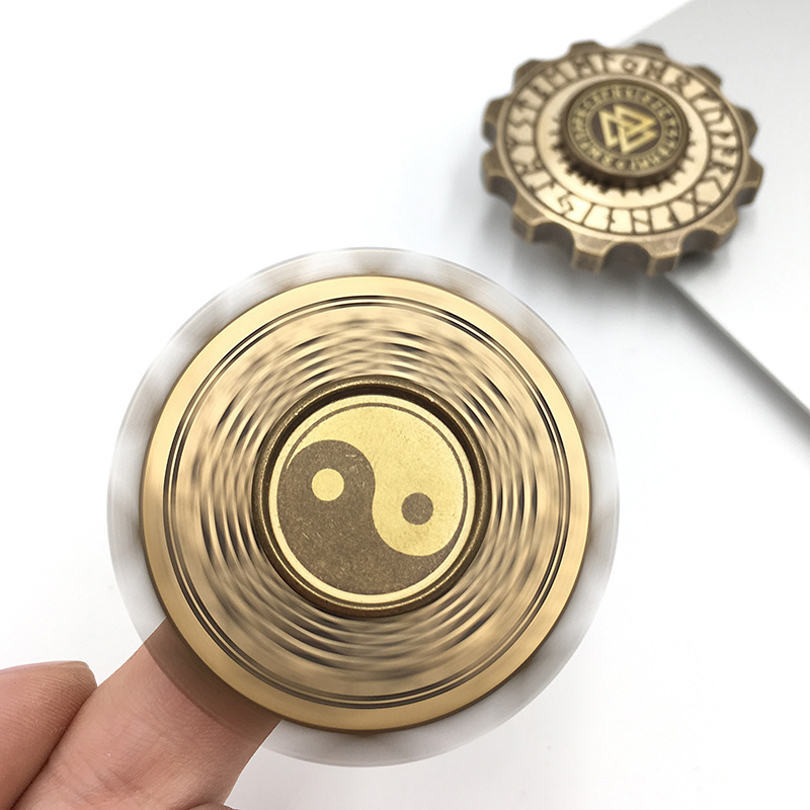 2107 EDC Fidget Spinner UFO China Compass Metal Hand Spinner Aluminum Alloy Fidget Toy Anxiety  Adults Kid Metal Spinner Stress new e zinc alloy cube hand spinner toys edc fidget cube spinner for autism and adhd anxiety stress kids adults gifts toupie anti