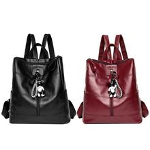 Comfortable PU Backpack For Women