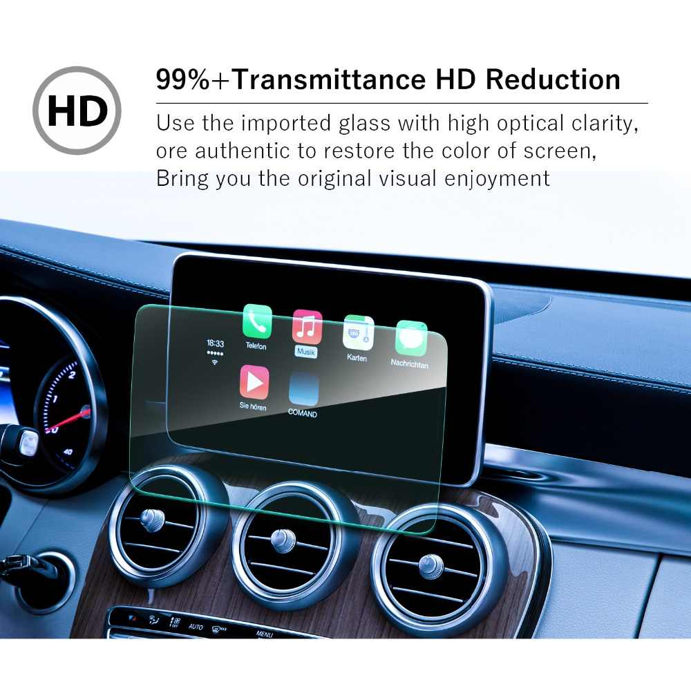 RUIYA screen protective film for Mercedes benz C-CLASS C43 C63 AMG W205  Comand Online NTG 5 8 4inch car gps navigation screen