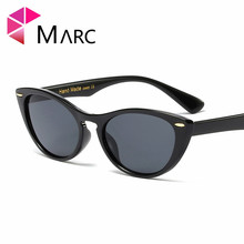 MARC new sunglasses women brand design retro colorful fashion cateye sun glasses men UV400 Trendy eyewear