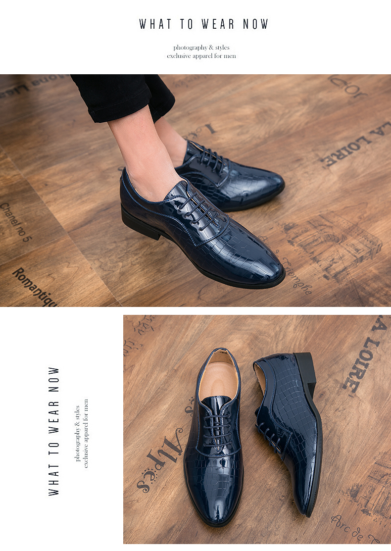 Hombres Zapatos Calzado 2018 Vestido Para De Vestir Casual Boda Business Hombre Clásico Primavera Cuero Nueva Auténtico YHRqHBznFx