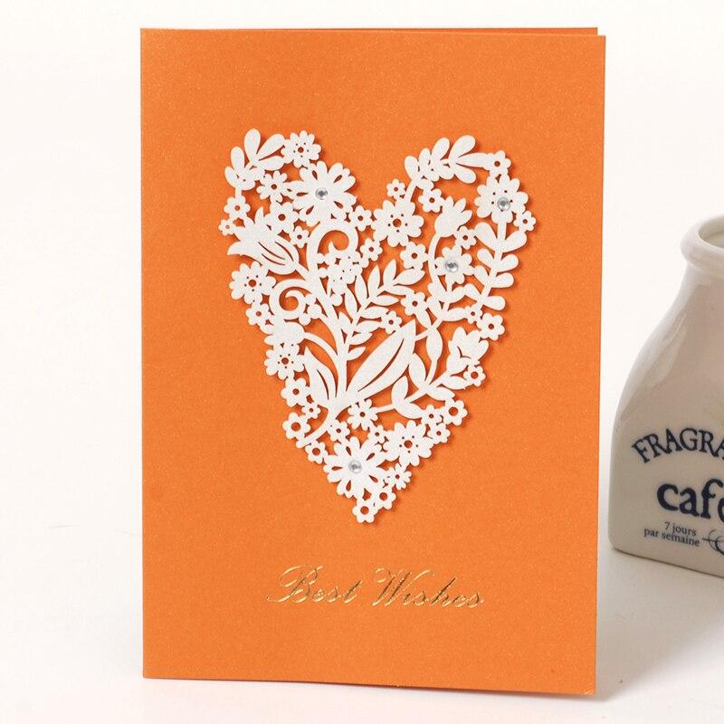Elegant Laser Cut Card Creative Women Birthday Card Thank You Best