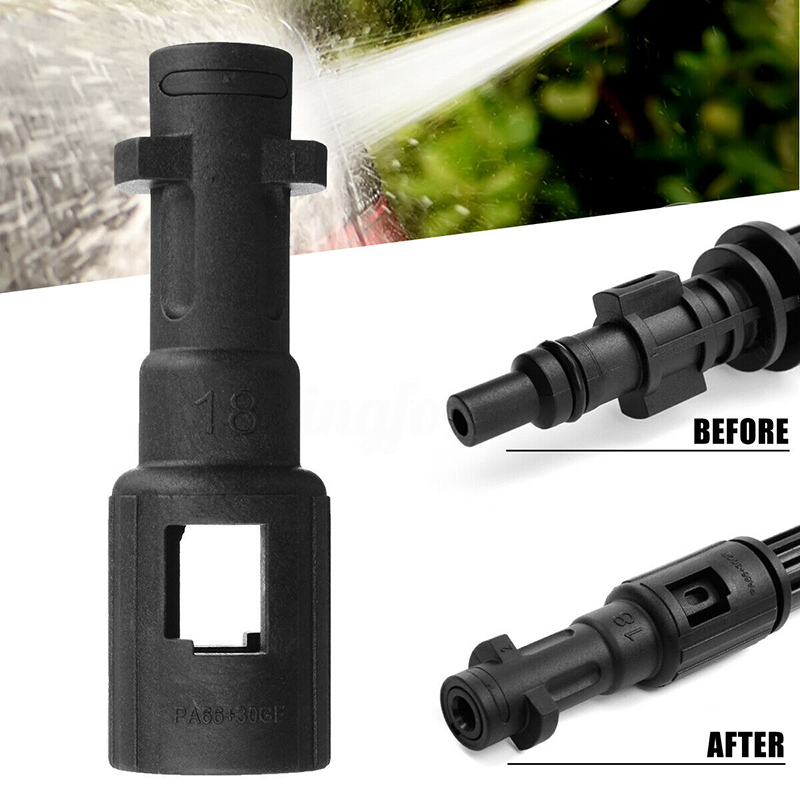 1pc Bayonet Fitting Adapter Pressure Washer Fitting Conversion For K-Series Lavor Kew Nilfisk Alto Connector