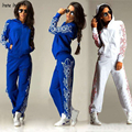 2016 new Tracksuit For Women Autumn Women's Sporting Suits Large Size Long Sleeve Print Women's Tracksuits Set Irene Inevet001