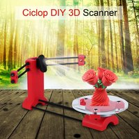 Three Dimensional 3D Scanner For Ciclop Printer Durable 3D Advanced Laser Scanner Universal Injection Molding Parts EU Plug