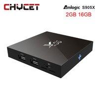 Chycet X96 TV Box Smart TV Box 2GB 16GB Amlogic S905X Quad Core WIFI HDMI 4K