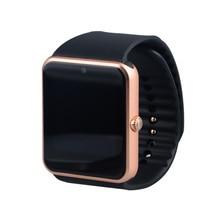 Mode smart watch gt08 uhr sync notifier unterstützung sim-karte bluetooth verbinden apple android telefon sport smartwatch russische t0