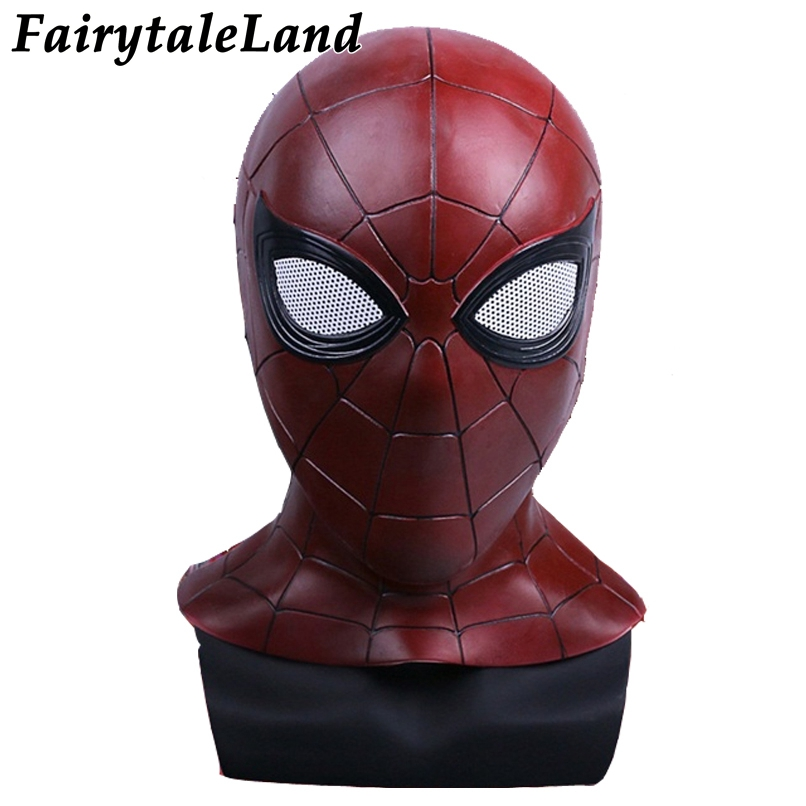 Avengers Infinity War spiderman casque Halloween Cosplay masque super-héros casque Avengers Spider-man masque fantaisie fête masque