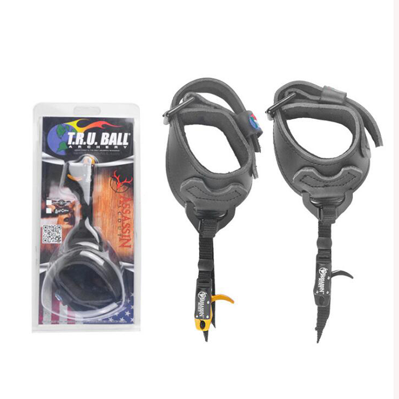 Compound Bow Caliper Release Aid Shooting Trigger Buckle Wrist Strap High end design precise placement For