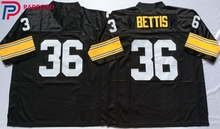 Embroidered Logo Jerome Bettis 36 black Throwback high school FOOTBALL  JERSEY for fans gift cheap 1108 34fe0faf0