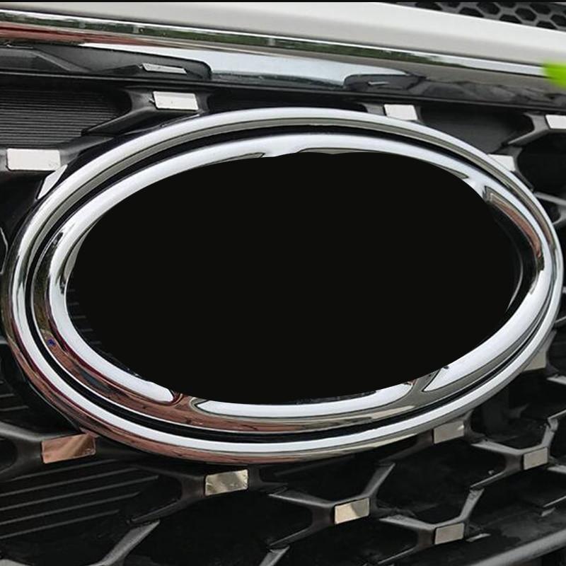 Tomefon For Hyundai Kona Encino 2018 2019 Abs Chrome Front: ABS For Hyundai Kona Encino 2018 2019 Car Styling Front