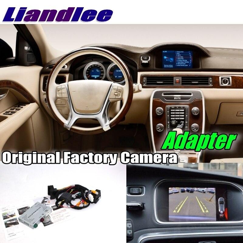 Liandlee voiture retour arrière sauvegarde Interface caméra adaptateur Kits de décodeur pour Volvo S80 S80L Sensus système mise à niveau