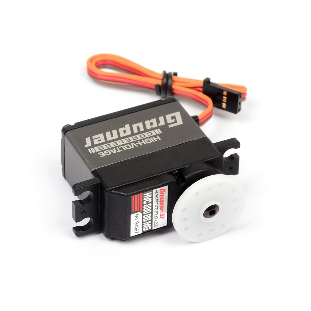 Graupner HVC 880 BBMG High-Speed 20mm HV CL Digital Servo for RC Plane Boat Car Gears RC Toy helicopter Parts 1pcs jx pdi 6221mg 20kg large torque digital coreless servo for rc car crawler rc boat helicopter rc model