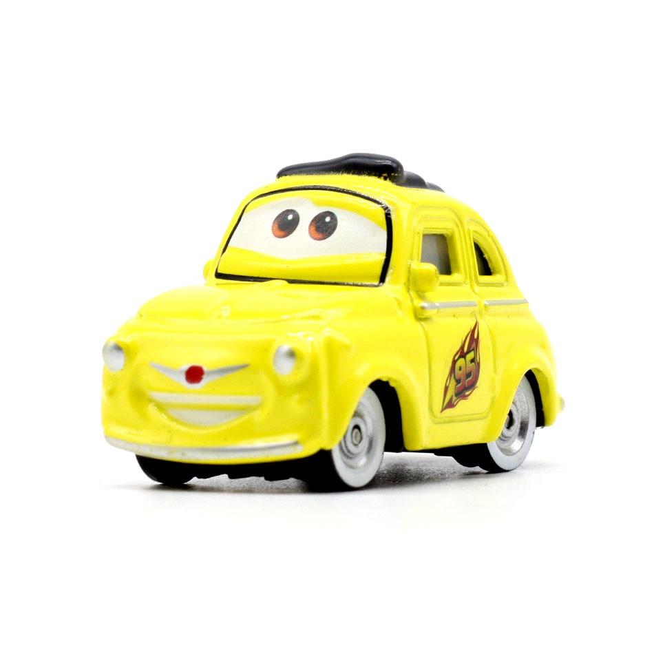 Disney Pixar Cars 3 21 стиль для детей Джексон шторм Высокое качество автомобиль подарок на день рождения сплав автомобиля игрушки модели персонажей из мультфильмов рождественские подарки - Цвет: 15