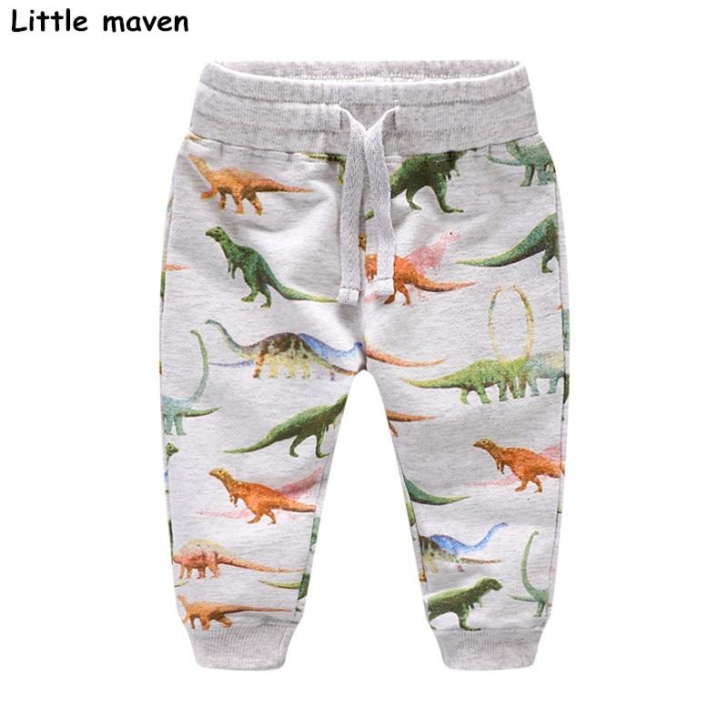 Little maven Otoño bebé niño ropa algodón pantalones con cordón - Ropa de ninos