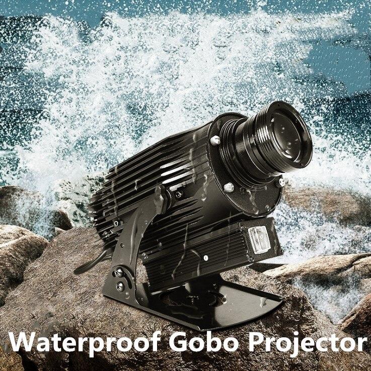 Водонепроницаемый IP65 проектор логотип 30 Вт 40 Вт 50 Вт 60 Вт 80 Вт 100 Вт изображения вход реклама светодиодный индивидуальные логотип компании с