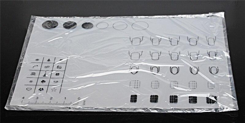 Silikoonist matt küünte lakkimiseks