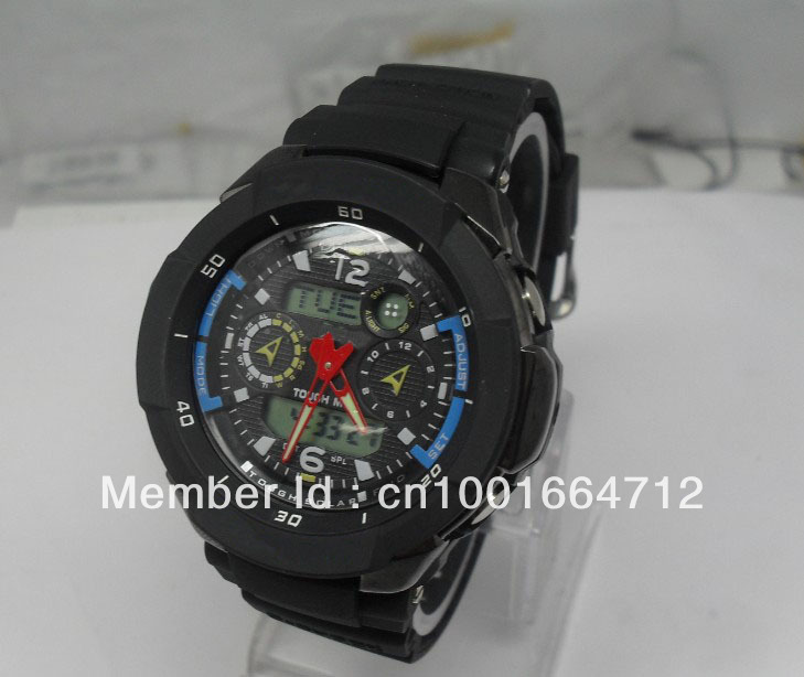 Hot selling 2012 gw 3500 watch,25pcs/lot fashion sports g watch crystal case shockly g3500 for teenager (by ems no shocked box)