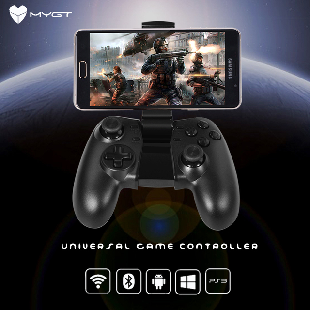 Mygt bluetooth wireless gaming controller game controller gamepad mygt bluetooth wireless gaming controller game controller gamepad mygt c02 for android 24g smartphone publicscrutiny Image collections