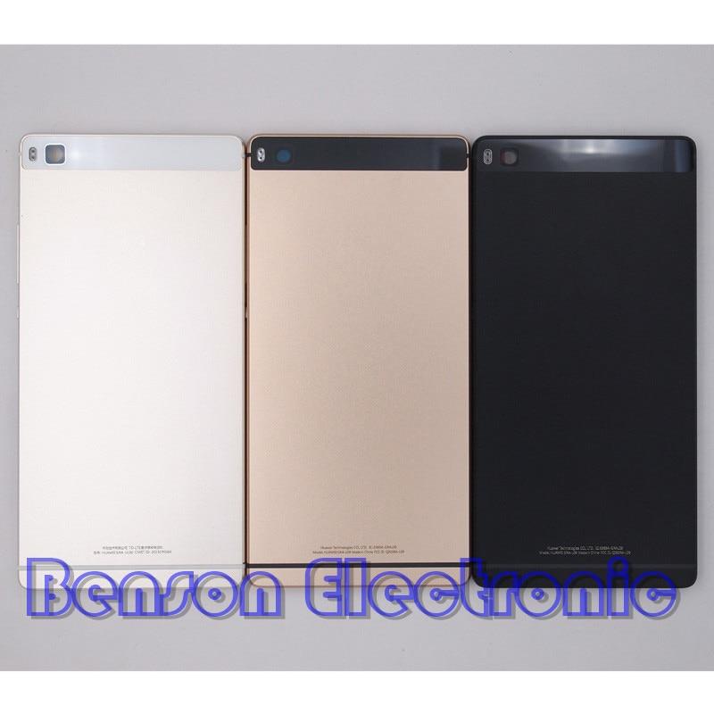 bilder für BaanSam Neue Metall Batterie Rückseitige Cover Gehäuse Fall Für Huawei Ascend P8 5,2 Zoll Standard Version Mit Power Lautstärketasten
