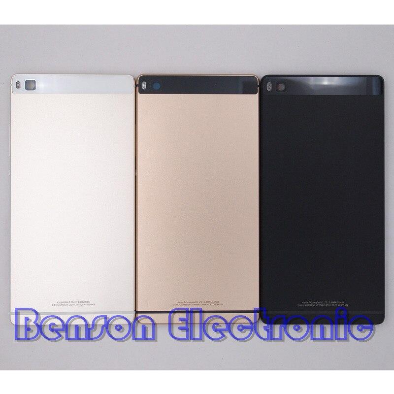 imágenes para BaanSam Nuevo Metal de La Batería Contraportada Caso de Vivienda Para Huawei Ascend P8 5.2 Pulgadas Versión Estándar Con Botones de Volumen de Energía