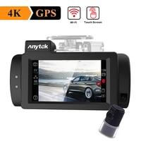 Anytek G200 Видеорегистраторы для автомобилей Камера WDR с функцией ночного видения gps Logger Видеорегистраторы для автомобилей тире Камера с 2.7in Сен