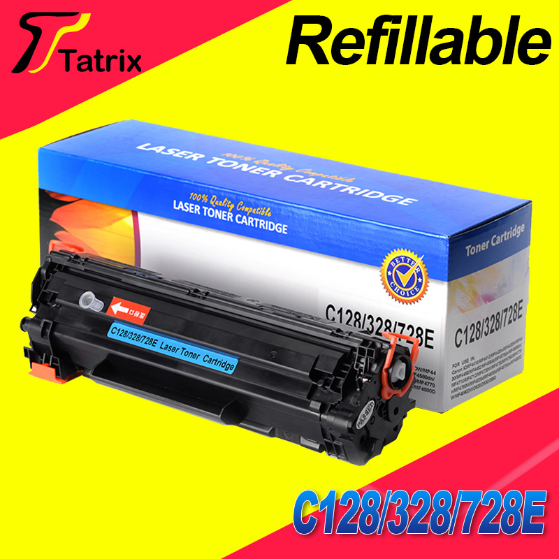 C128/328/728 With Chip Refillable Toner Cartridge Compatible For Canon IC MF4420n 4412 4410 new arrival e260 e360 e460 cartridge chip compatible for lexmark e460 toner chip