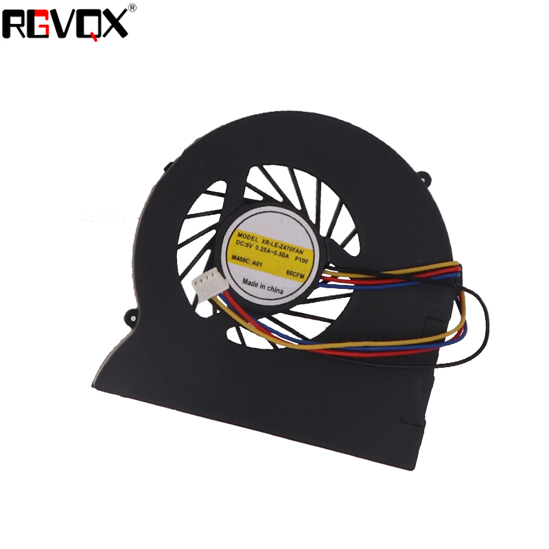 Купить с кэшбэком New Laptop Cooling Fan For Lenovo Z470 AB7205HX-GC1 Replacement Cooler