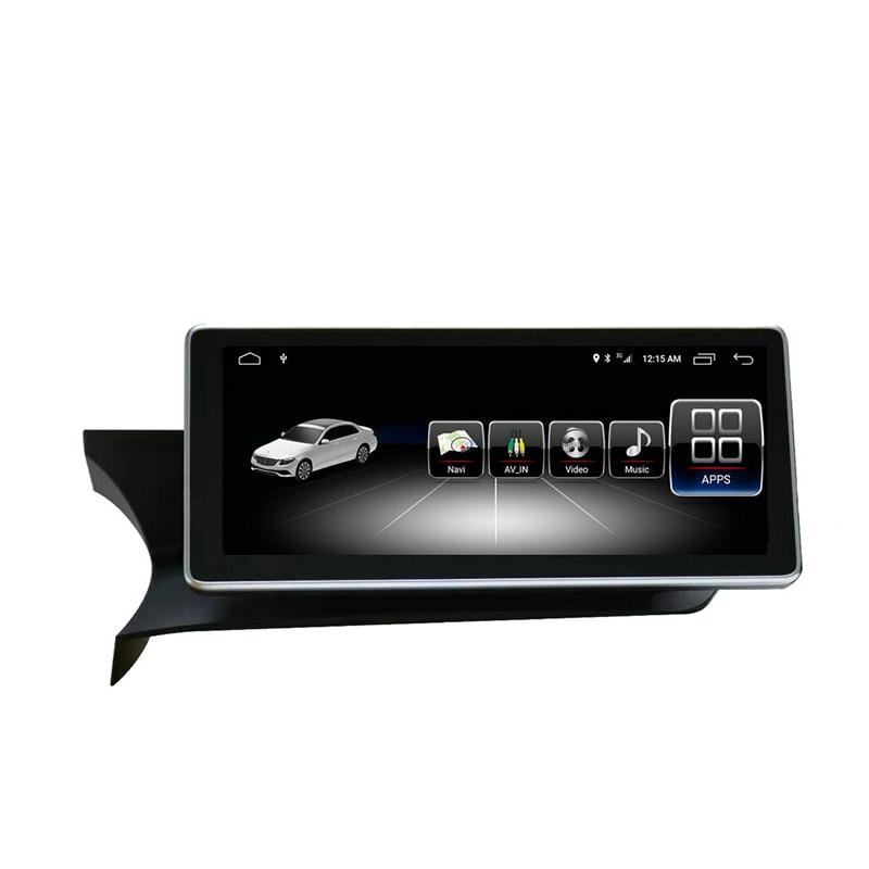 Véhicule GPS Android 7.1 4G + 64G pour Mercedes Benz C classe 2011 à 2014 10.25