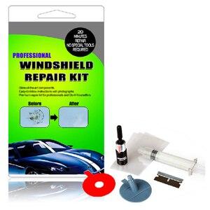 Image 2 - مجموعة أدوات إصلاح الزجاج الأمامي للسيارة ، ملصقات زخرفية واقية لمقبض الباب ، افعلها بنفسك