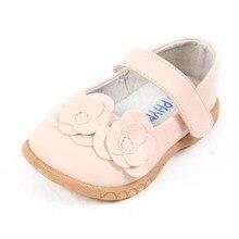 2017 осень новых детей сандалии принцесса обувь обувь для девочек мода цветочный дизайн детская обувь кожа pu девушки обувь одного