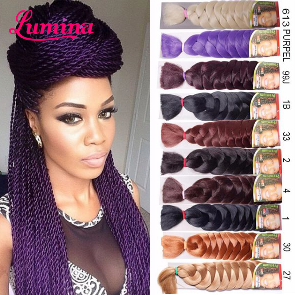 Hot Xpression Braiding Hair Extensions Color 165g Synthetic