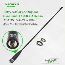 Originale NAGOYA antenna NA 771 SMA Femmina fit for Two Way Radio UV 5R UV 82 Dual band antenna