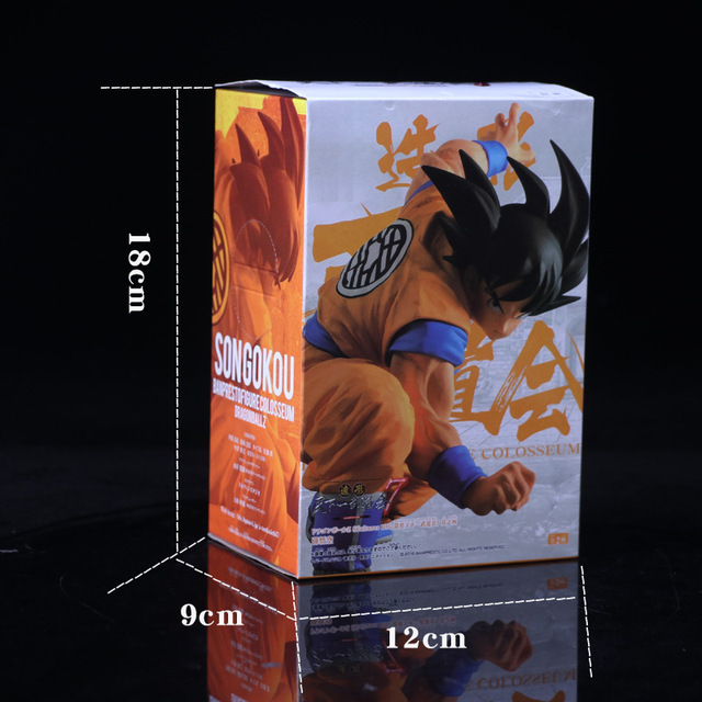Аниме фигурка Сон Гоку Драконий жемчуг 13,5 см