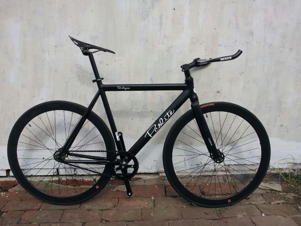 PCO Fixed Gear Bike Aluminium Frame And Cinelli Handlebar