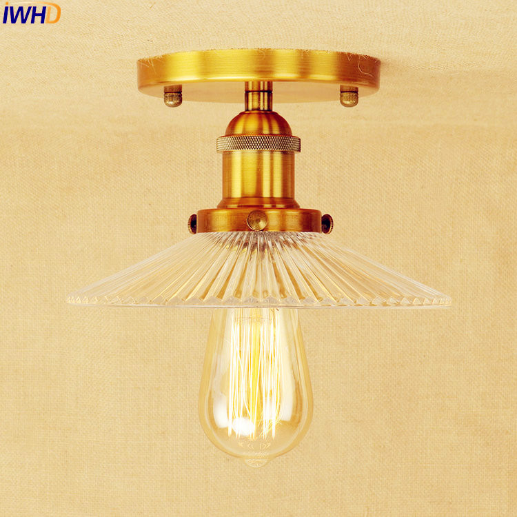 IWHD Edison Retro LED Ceiling Light Fixtures Living Room Lamp Plafonnier Loft Industrial Vintage Ceiling Light Lampara Techo iron wrount edison vintage ceiling lights fixtures home lighting edison led ceiling lamp industrial plafon lampara techo