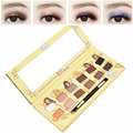 Naughty Nude 12 Colors Nude Color Makeup Eye Shadow Smoked Brand Make Up Eyeshadow Palette Sexy Women Cosmetics Maquiagem Beauty