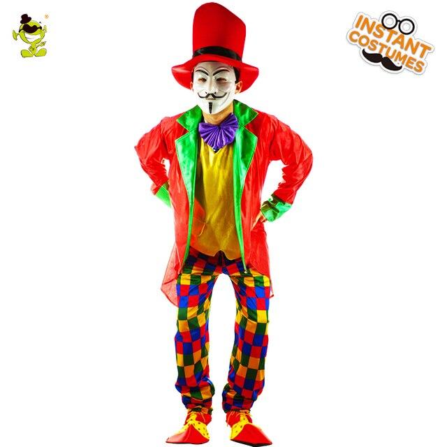 clown halloween Adult costume