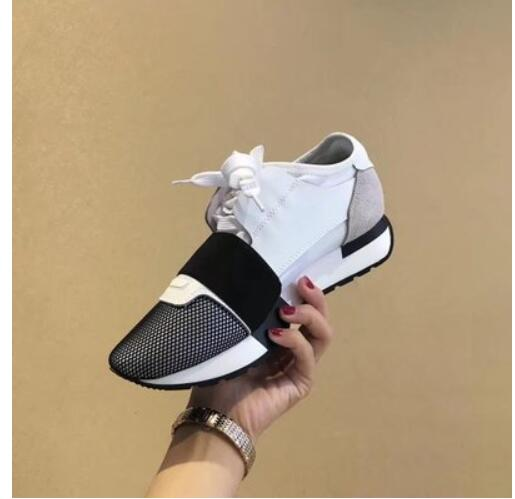 2018 Fashion Men Lace Up Casual Shoes Tenis feminino Spring Summer Men Trainers Breathable Flats Walking Shoes 100% Real Picture 2017 new fashion men casual shoes men shoes flats sneakers breathable mesh lovers casual shoes tenis feminino trainers men shoes