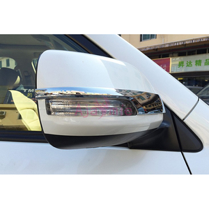 Image 5 - Chrome Car Styling Door Mirror Overlay Rearview Trim 2012 2013 2014 2015 2016 2017 2018 For Toyota Land Cruiser 200 Accessories