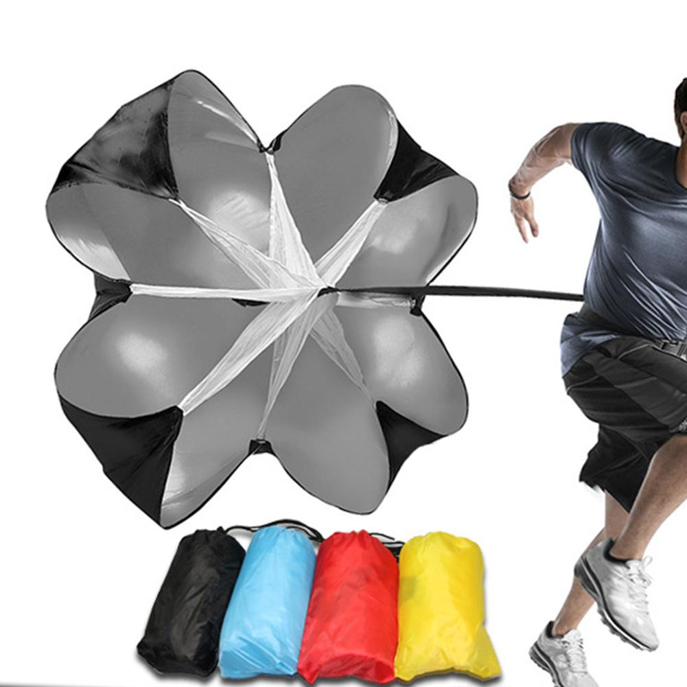Soccer Speed Resistance Running Training Parachute Running Chute Football Exercise Bag Increase Speed Soccer Equipment