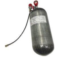AC312101 углеродное волокно бак Воздушный бак цилиндр 4500psi станция наполнение pcp воздушный шар высокого давления pcp мини акваланг ACECARE